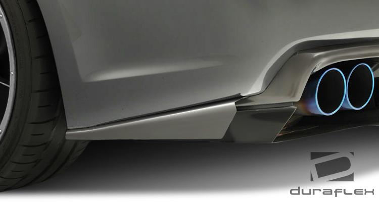 USパーツ 08-14スバルインプレッサ5DR VR-S Duraflexリアキャナード!!! 107874 08-14 Subaru Impreza 5DR VR-S Duraflex Rear Canards!!! 107874