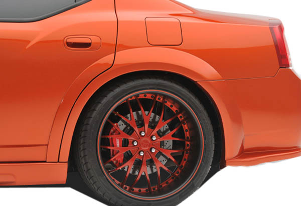 USパーツ 06-10ダッジチャージャーLuxeクチュールリアワイドボディリアフェンダーフレア! 104816 06-10 Dodge Charger Luxe Couture Rear Widebody Rear Fender Flares!!! 104816