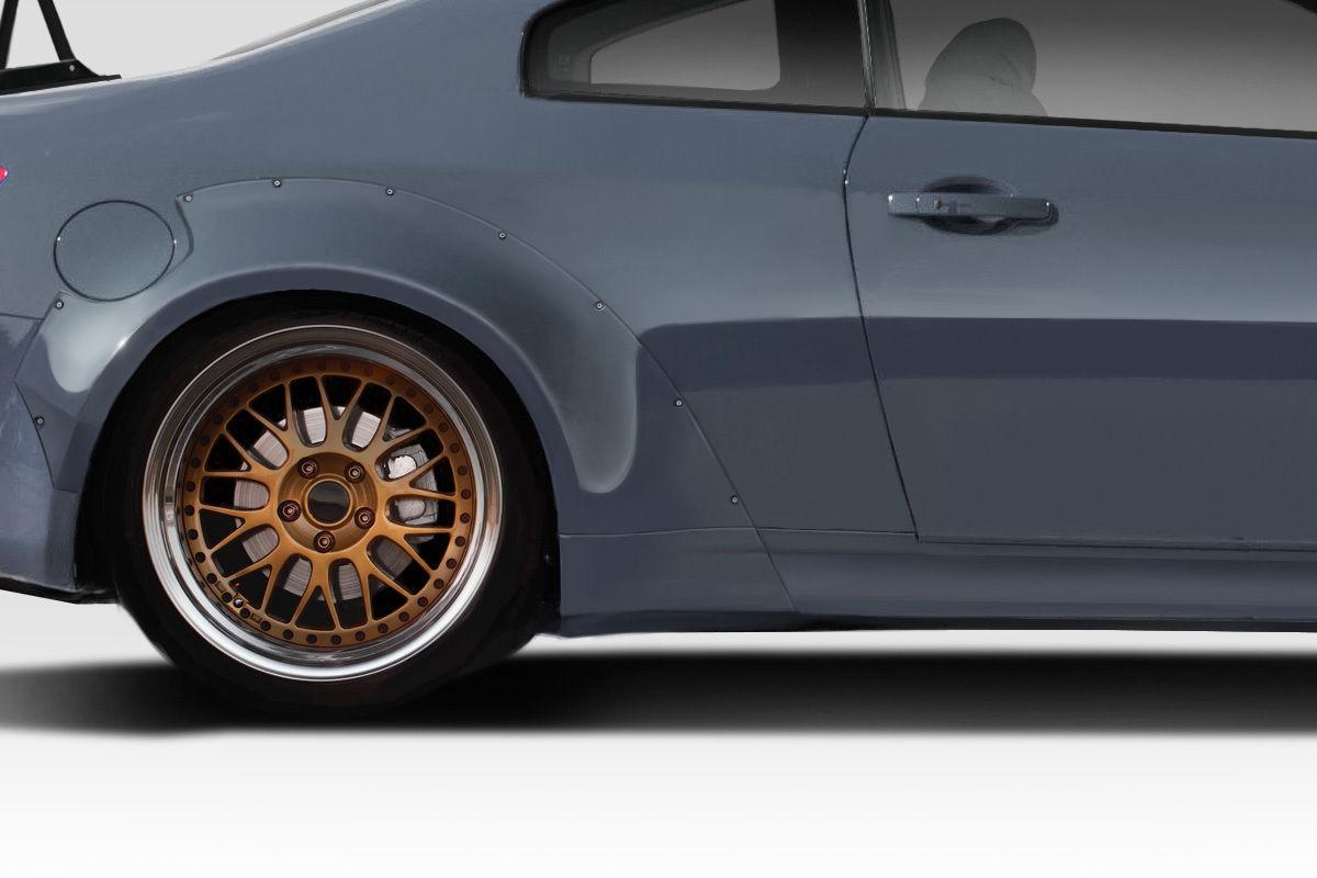USパーツ 03-07はインフィニティGクーペサーキットに適合するDuraflex 75MMフロントフェンダーフレアキャップ113036 03-07 Fits Infiniti G Coupe Circuit Duraflex 75MM Front Fender Flare Caps 113036