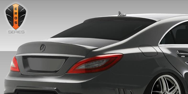 USパーツ 12-15 Mercedes CLS Eros V.1 Duraflexボディキットルーフウィング/スポイラー!! ! 108441 12-15 Mercedes CLS Eros V.1 Duraflex Body Kit-Roof Wing/Spoiler!!! 108441
