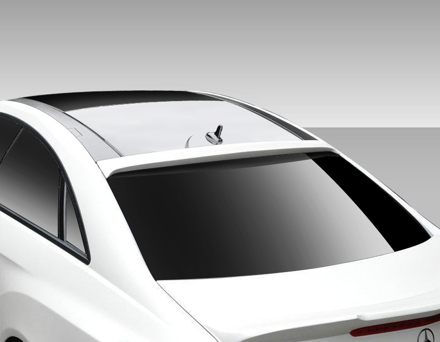 USパーツ 10-16メルセデスEクラスコンバーチブルエロスV3 Duraflexボディキットルーフウィング/スポイラー 10-16 Mercedes E Class Convertible Eros V3 Duraflex Body Kit-Roof Wing/Spoiler