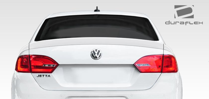 USパーツ 11-14フォルクスワーゲンジェッタRを見るDuraflexボディキット - ウィング/スポイラー er !!! 108223 11-14 Volkswagen Jetta R Look Duraflex Body Kit-Wing/Spoiler!!! 108223