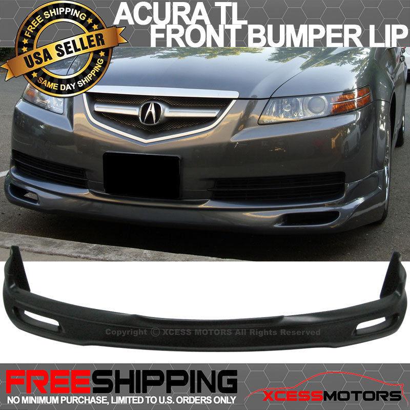 USパーツ 04-06アキュラTL JDMウレタンフロントバンパーリップスポイラー 04-06 Acura TL JDM Urethane Front Bumper Lip Spoiler