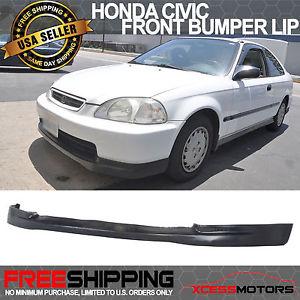 USパーツ 96-98ホンダシビックウレタンCTRフロントバンパーリップスポイラー 96-98 Honda Civic Urethane CTR Front Bumper Lip Spoiler