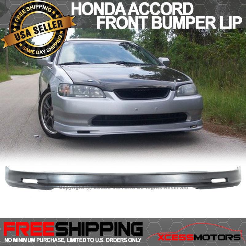 USパーツ 98-00 Honda Accord 2Dr Mugenフロントバンパーリップスポイラー 98-00 Honda Accord 2Dr Mugen Front Bumper Lip Spoiler