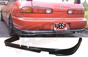 USパーツ 1994 1997アキュラインテグラ2D無限スタイルリアバンパーリップ未塗装ABS樹脂 1994 1997 Acura Integra 2D Mugen Style Rear Bumper Lip Unpainted ABS Plastic