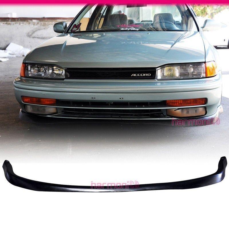 USパーツ Honda Accord PUフロントバンパーリップボディキットT-Rスタイル Brand New For 1990-1993 Honda Accord PU Front Bumper Lip Body Kit T-R Style
