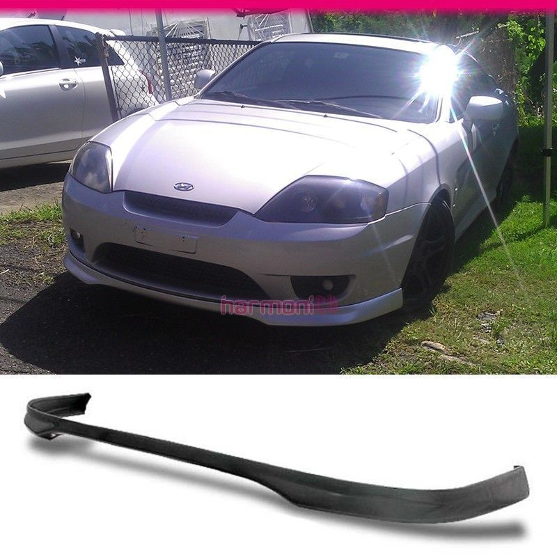 USパーツ FIT FOR 03 04 HYUNDAI TIBURON JDMフロントバンパーリップPU FIT FOR 03 04 HYUNDAI TIBURON JDM FRONT BUMPER LIP PU