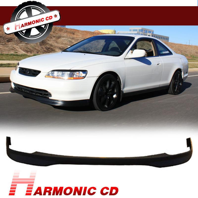 USパーツ フィット98 9800ホンダアコード2DRクーペフロントバンパーリップボディキットタイプ-R PU Fit For 98 9900 Honda Accord 2DR Coupe Front Bumper Lip Bodykit Type-R PU