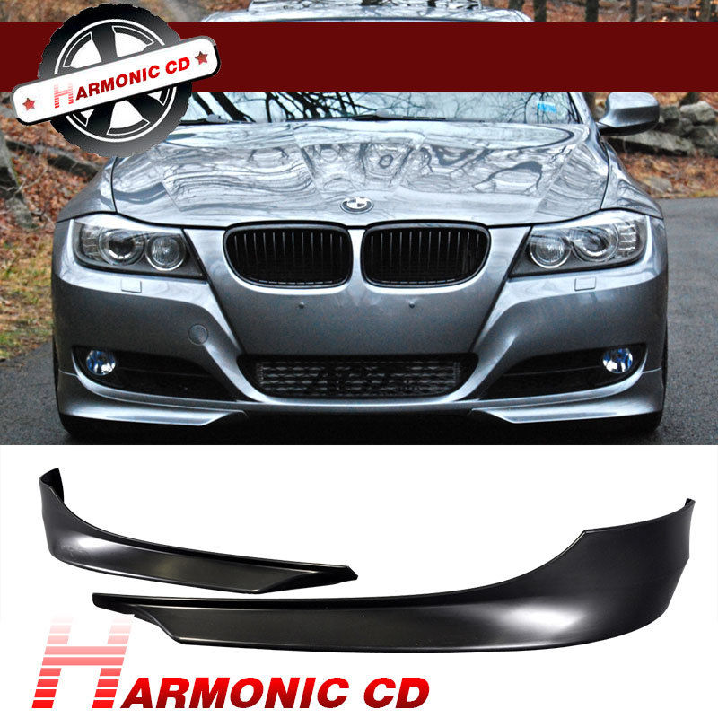 USパーツ 09-11 BMW E90 3シリーズ前部バンパーリップPP 2PC用 FIT FOR 09-11 BMW E90 3 SERIES FRONT BUMPER LIP PP 2PC