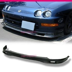 USパーツ 98-01 ACURA INTEGRAスプーンスタイルフロントバンパーリップスポイラボディキットPU FIT FOR 98-01 ACURA INTEGRA SPOON STYLE FRONT BUMPER LIP SPOILER BODYKIT PU