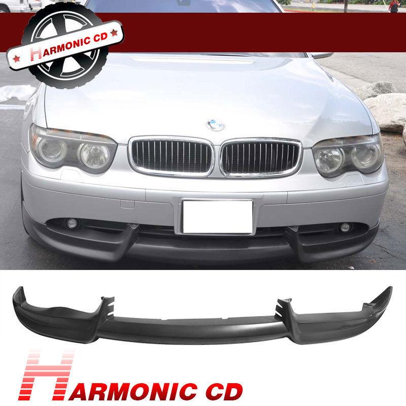 USパーツ FIT FOR 02-05 BMW E65 / E66 750 760フロントバンパーリップACS URETHANE FIT FOR 02-05 BMW E65/E66 750 760 FRONT BUMPER LIP ACS URETHANE