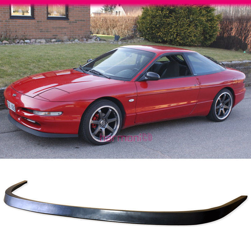 USパーツ FIT FOR 99-04フォードムスタングV6 V8 OEスタイルPUフロントバンパーリップスポイラーGT FIT FOR 99-04 FORD MUSTANG V6 V8 OE STYLE PU FRONT BUMPER LIP SPOILER GT