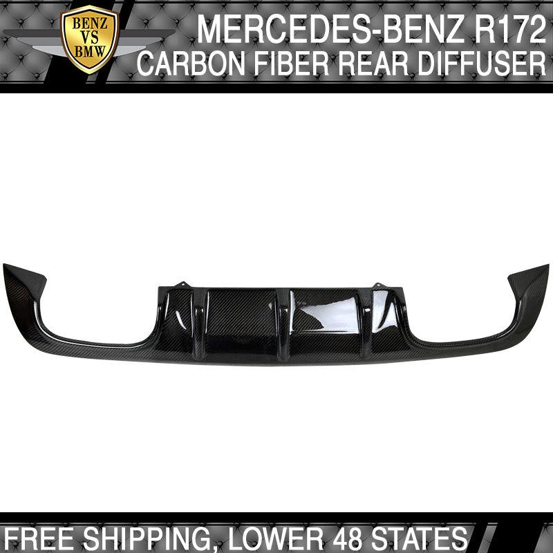 【爆売りセール開催中!】 USパーツ Carbon USAストック11-14ベンツSLKクラスR172リアディフューザ - 炭素繊維(CF) USA Stock 11-14 Benz Fiber R172 SLK Class R172 Rear Diffuser - Carbon Fiber (CF), 彩り品:993b8a86 --- briefundpost.de