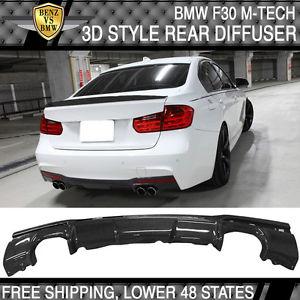 【期間限定】 USパーツ 12-16 CF 12-16 BMW F30セダン3DタイプバンパーリップディフューザーカーボンファイバーCF 12-16 BMW F30 Sedan 3D Type Type Bumper Lip Diffuser Carbon Fiber CF, 網走市:a8a06c81 --- briefundpost.de