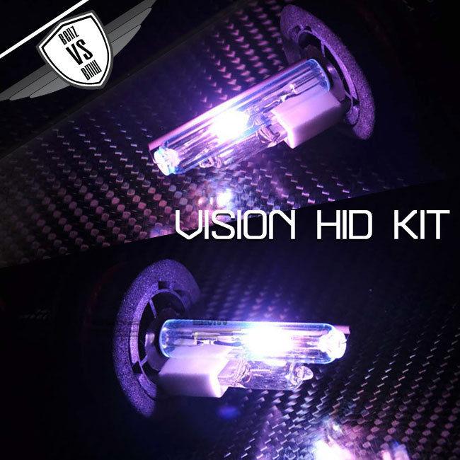 USパーツ Vision 9004デュアルHi-LoデジタルバラストHID変換キットパープル35W 12V Vision 9004 Dual Hi-Lo Digital Ballast HID Converion Kit Purple 35W 12V