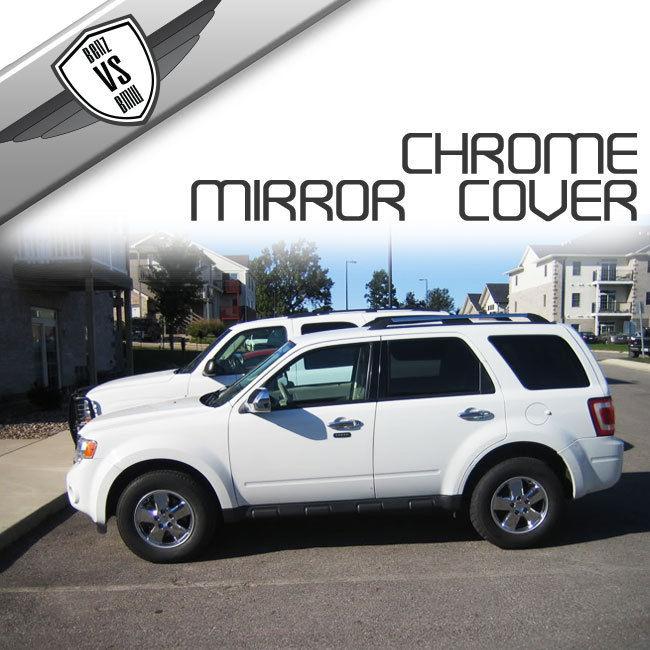USパーツ 08-11フォードエスケープマーキュリーマリナーマツダトリビュートミラーカバークロム 08-11 Ford Escape Mercury Mariner Mazda Tribute Mirror Cover Chrome