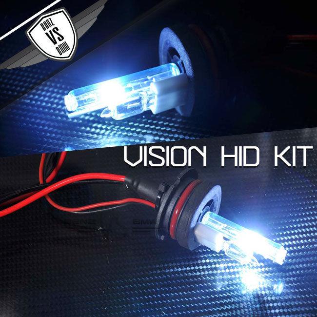 USパーツ ビジョンHID変換キット9007 HI LOw高低8000k 35wデジタルバラストペア Vision HID Conversion Kit 9007 HI LOw High Low 8000k 35w Digital Ballast In Pair