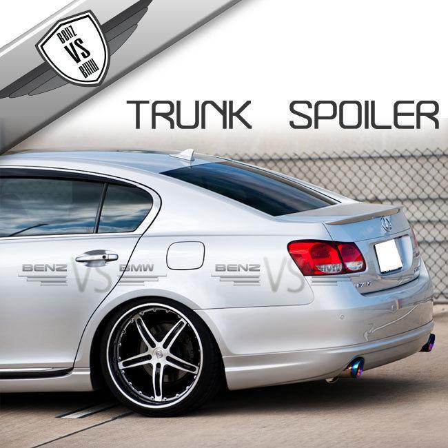 USパーツ 06-11レクサスGS350 Gs450 OEスタイルトランクリッドスポイラーABS新 For 06-11 Lexus GS350 Gs450 OE Style Trunk Lid Spoiler ABS New