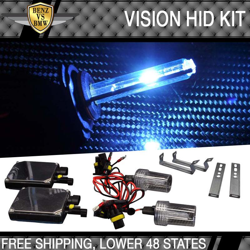 USパーツ ビジョン9006ヘッドライトロービーム8000kアイスブルーキセノンバラストHID変換キット Vision 9006 Headlights Low Beam 8000k Ice Blue Xenon Ballast HID Conversion Kit