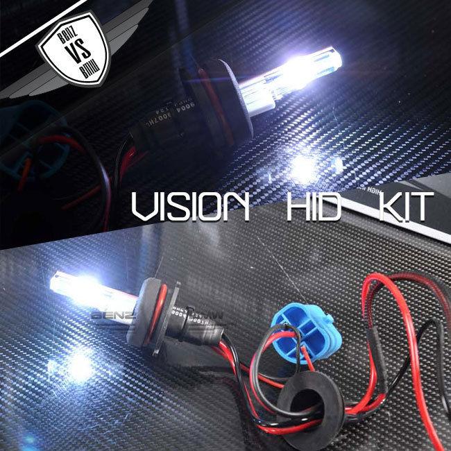 USパーツ ビジョンHID変換キット9007 HI LOwハイロー10000k 35wデジタルバラストペア Vision HID Conversion Kit 9007 HI LOw High Low 10000k 35w Digital Ballast Pair