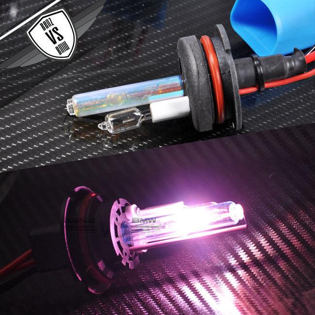 USパーツ ビジョンHID変換キット9007ハイローHI LOピンク35wデジタルバラストインペア Vision HID Conversion Kit 9007 High Low HI LO Pink 35w Digital Ballast In Pair