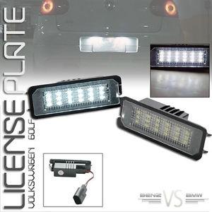 USパーツ 06フォルクスワーゲンゴルフ4 18SMD LEDライセンスプレートライトランプ 06 Volkswagen Golf 4 18SMD LED License Plate Light Lamp