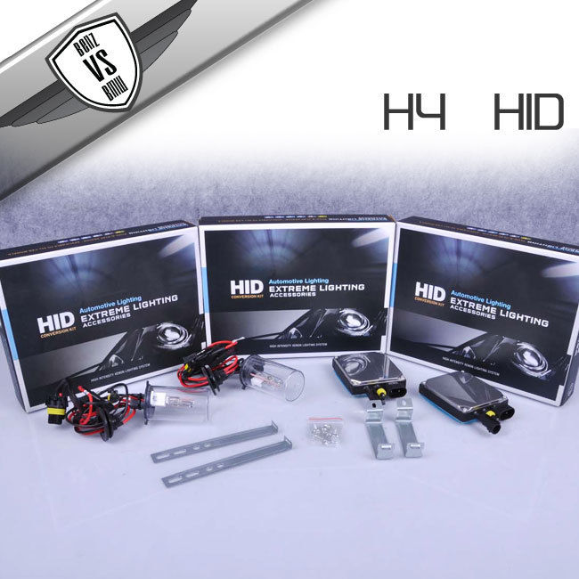 USパーツ ビジョンHID変換キットH4高低3000k 35Wデジタルバラスト(ペア) Vision HID Conversion Kit H4 High Low 3000k 35watt Digital Ballast(Pair)