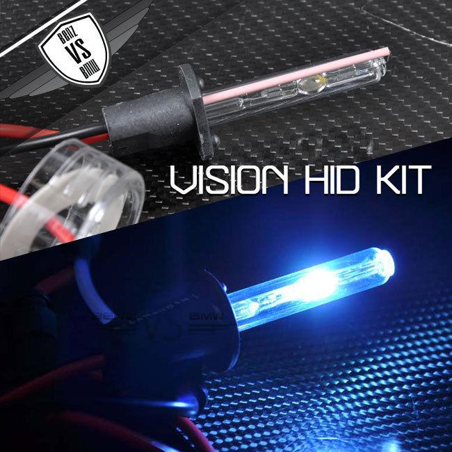 USパーツ ビジョンヘッドライトハイビームキセノンHID H1 8000kアイスバーグブルーアナログバラスト35w Vision Headlight High Beam Xenon HID H1 8000k Iceberg Blue Analog Ballast 35w