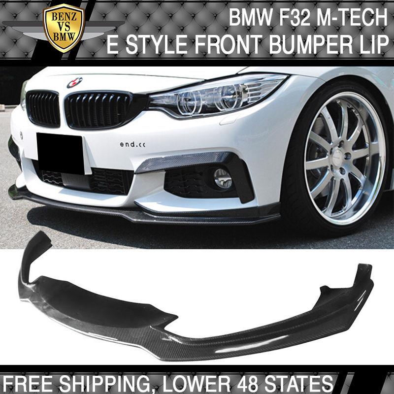 USパーツ 14-16 BMW F32 F33 F36 4シリーズIkonフロントバンパーリップカーボンファイバーCF 14-16 BMW F32 F33 F36 4-Series Ikon Front Bumper Lip Carbon Fiber CF