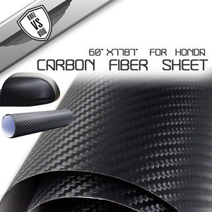 USパーツ ホンダ用フルビニールシートデカールラップ1.52m * 30mカーボンファイバー For Honda 1 Full Roll Of Vinyl Sheet Decal Wrap 1.52m*30m Carbon Fiber