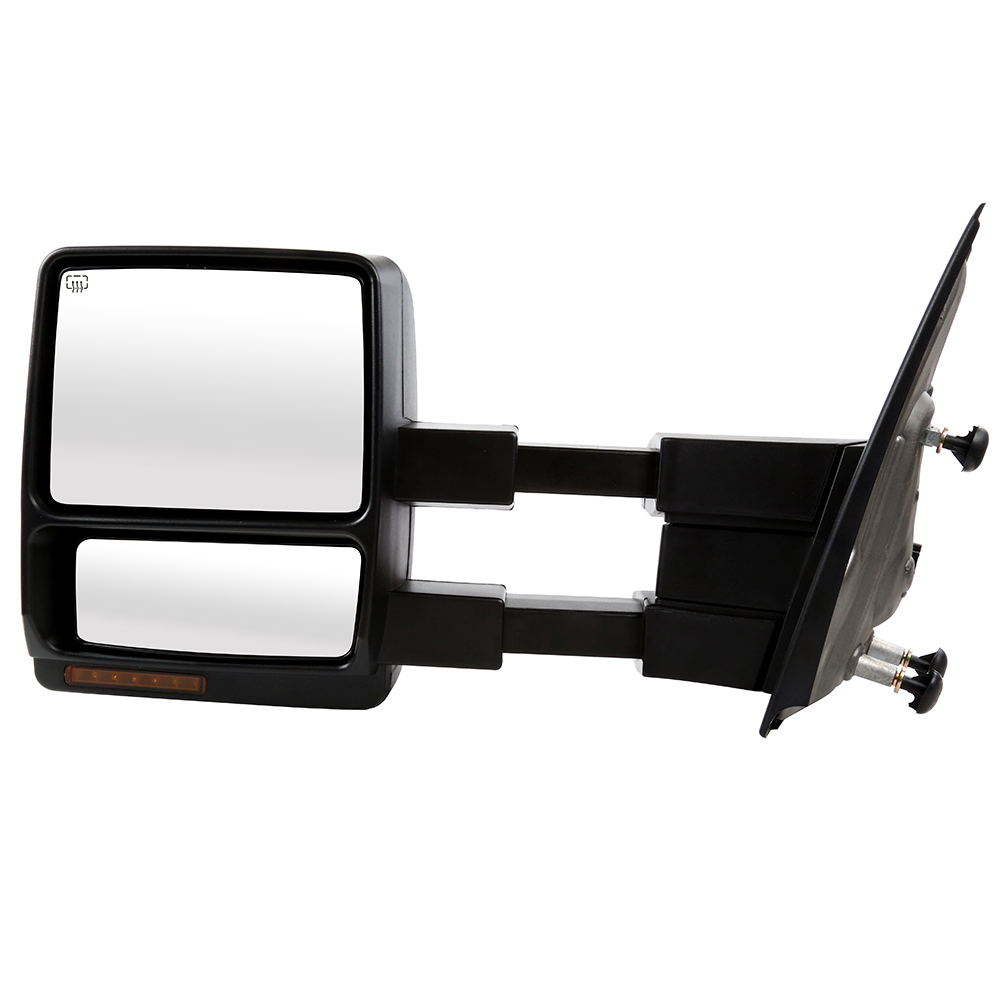 USミラー 左サイドパワーヒート信号パドルミラーフォードF-150 w /ライフタイム保証 Left Side Power Heated Signal Puddle Mirror for a Ford F-150 w/Lifetime Warranty