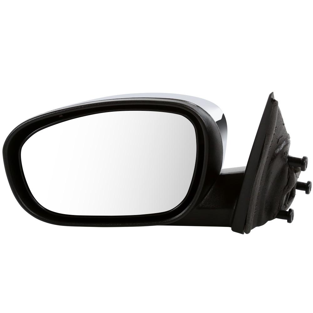 USミラー 新しいパワーヒートサイドミラー、左側のドライバーサイド用、寿命保証付 New Power Heated Side Mirror for Left Drivers Side With Lifetime Warranty