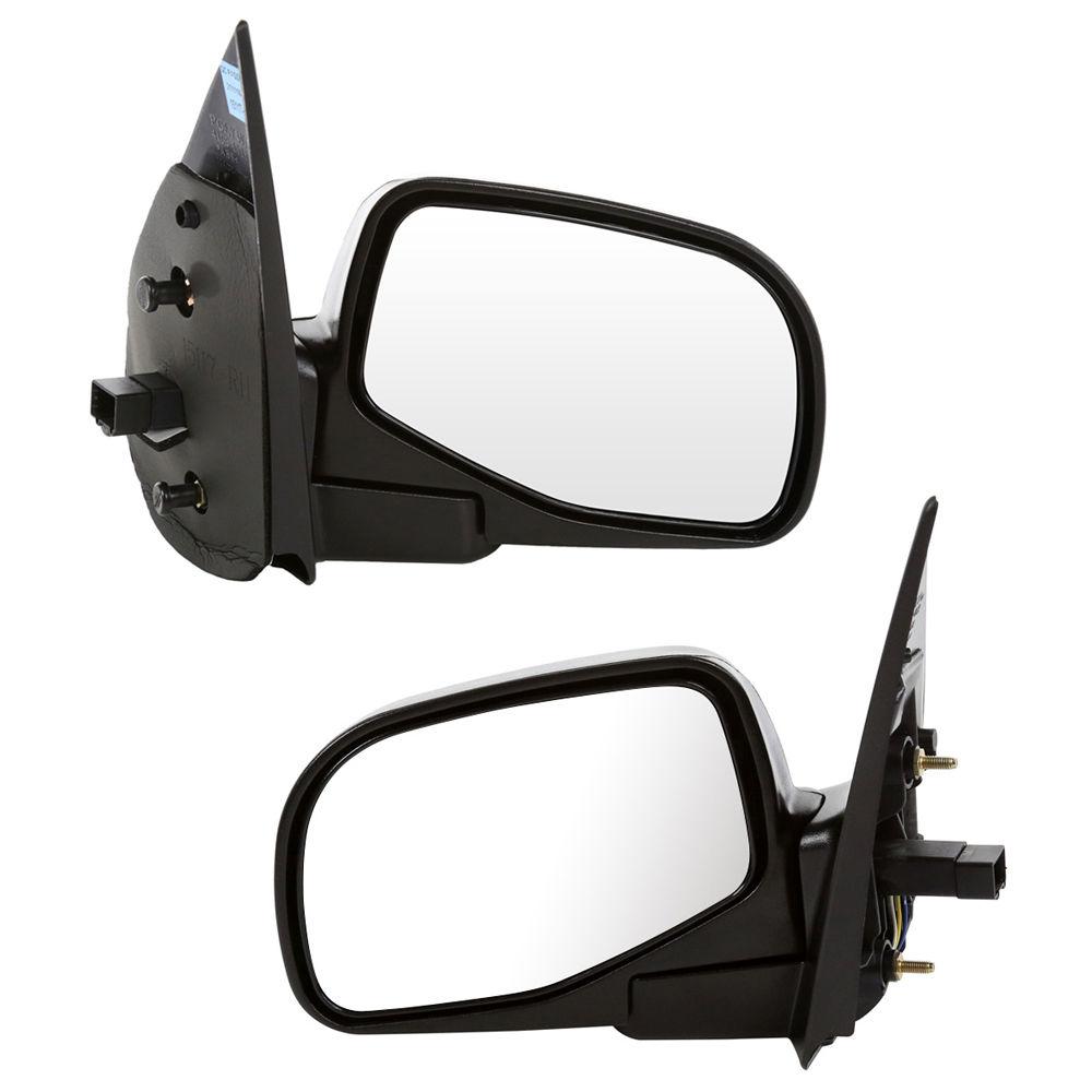 USミラー パドルライトペア付きの新しいパワーミラーは左& Mountaineer Explorer用の権利 New Power Mirrors w/ Puddle Light Pair Set Left & Right for Mountaineer Explorer