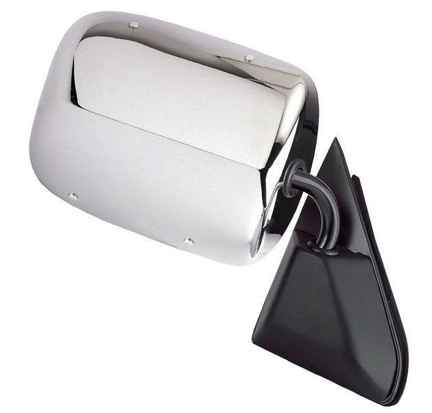 USミラー New Manual Passengers Side Mirror for a Chevy C/K Series With Lifetime Warranty