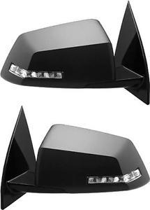 USミラー 07-08 GMC土星のために加熱された新しいペアパワーサイドビューミラーガラスハウジング New Pair Power Side View Mirror Glass Housing Heated for a 07-08 GMC Saturn