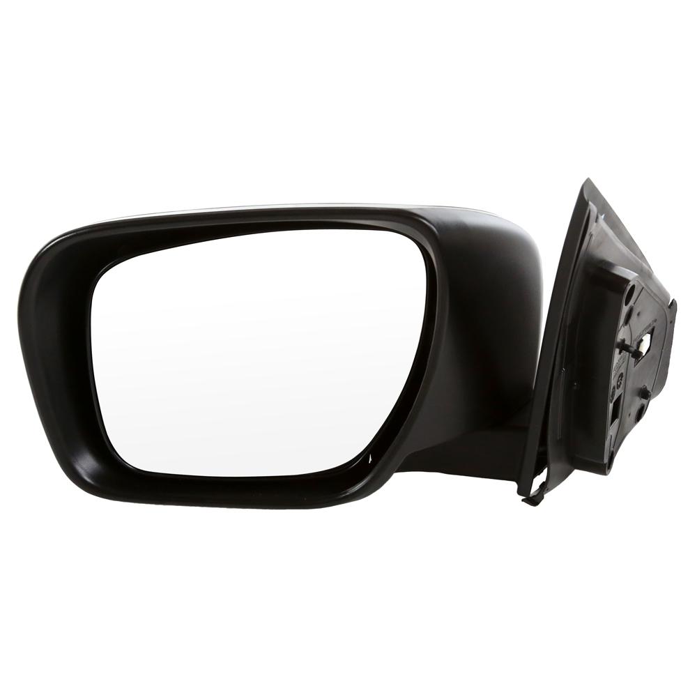 USミラー パワーヒートされたドライバーサイドミラーターンシグナルマニュアルフォールディング/ライフタイム保証 Power Heated Drivers Side Mirror Turn Signal Manual Folding w/Lifetime Warranty