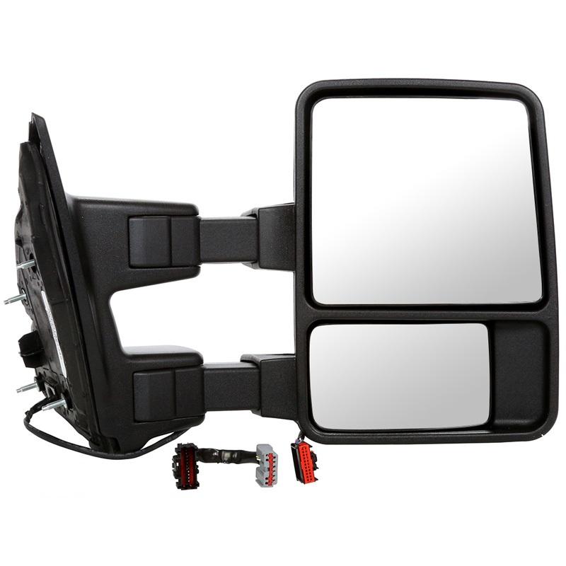 USミラー 2008年?2015年フォードスーパーデューティ用の右乗客サイドパワー加熱サイドミラー Right Passengers Side Power Heated Side Mirror for a 2008-2015 Ford Super Duty