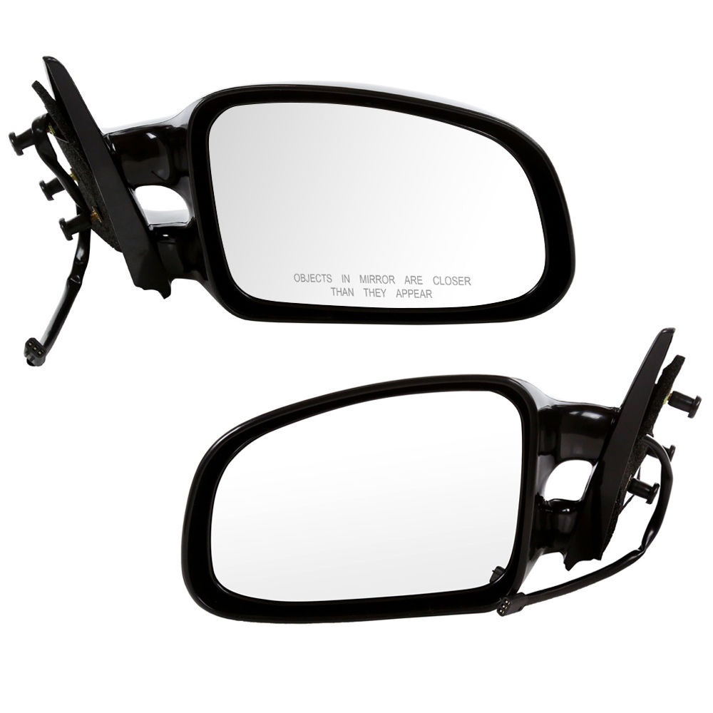 USミラー 新しいペアのサイドビューミラーLH RH Power 99-02 Pontiac Grand Am New Pair Of Side View Mirrors LH RH Power Non-Heated For 99-02 Pontiac Grand Am