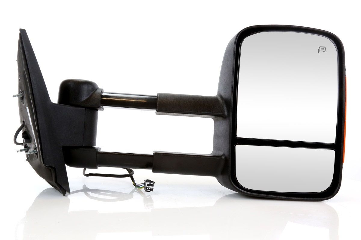 USミラー 助手席サイドミラー、信号付き、Chev GMC /ライフタイム保証付 Passenger Side Side Mirror w/Signal For a Chev GMC w/Lifetime Warranty