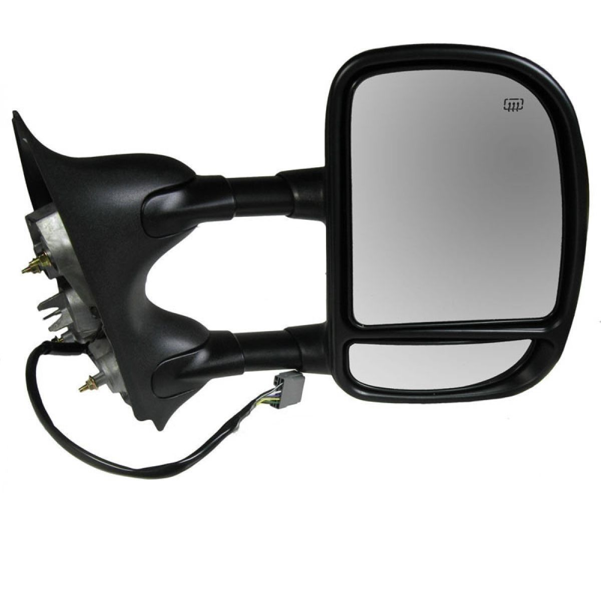 USミラー 新しいパワートーイングパッセンジャーミラーフォードスーパーデューティw /ライフタイム保証 New Power Towing Passenger Mirror for a Ford Super Duty w/Lifetime Warranty