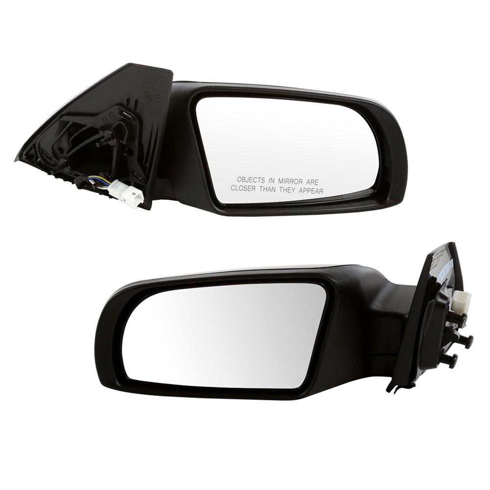 USミラー ペアのパワー非加熱ドアミラー(10-11日産アルティマワット/ライフタイム保証付き) Pair Power Non-Heated Door Mirrors for a 10-11 Nissan Altima w/Lifetime Warranty