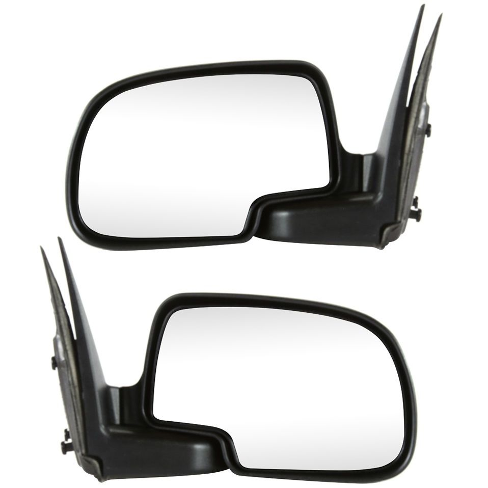 USミラー 2つのミラーセット左& Cadillac Chevy GMCのための乗客右サイドペア Set of 2 Mirrors Driver Left & Passenger Right Side Pair for Cadillac Chevy GMC