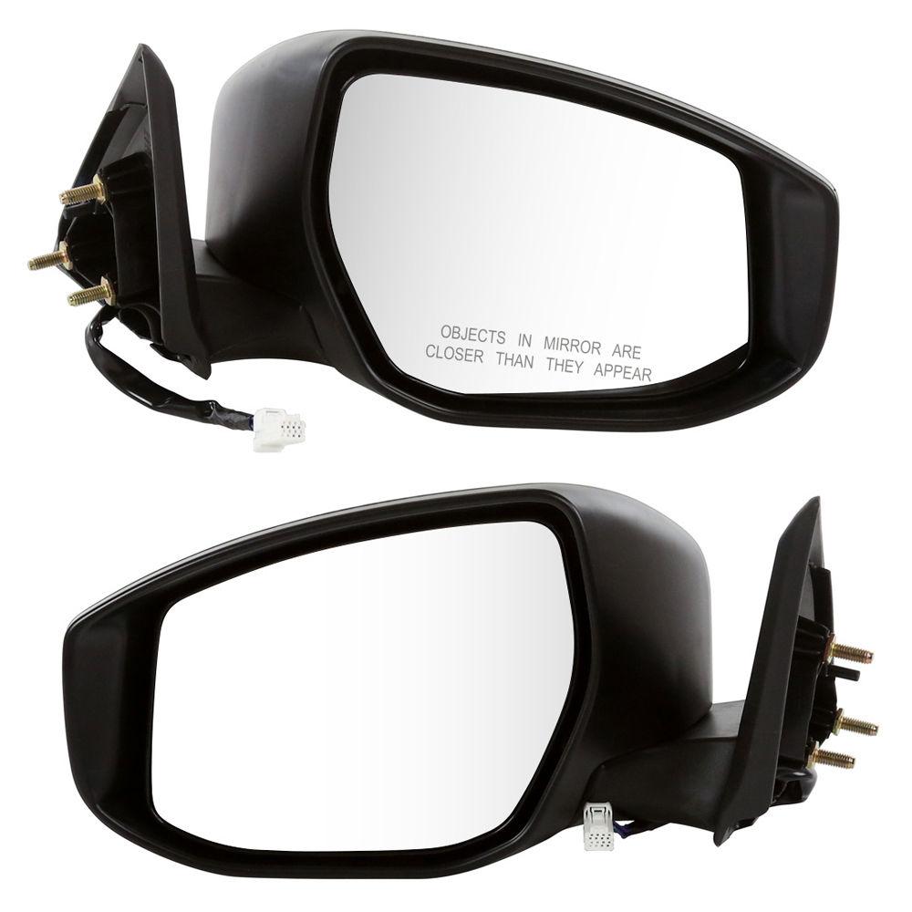 USミラー 2013年日産アルティマ用(2)ドライバー乗用車パワーヒートミラーセット Set of (2) Driver Passenger Side Power Heated Mirrors For a 2013 Nissan Altima