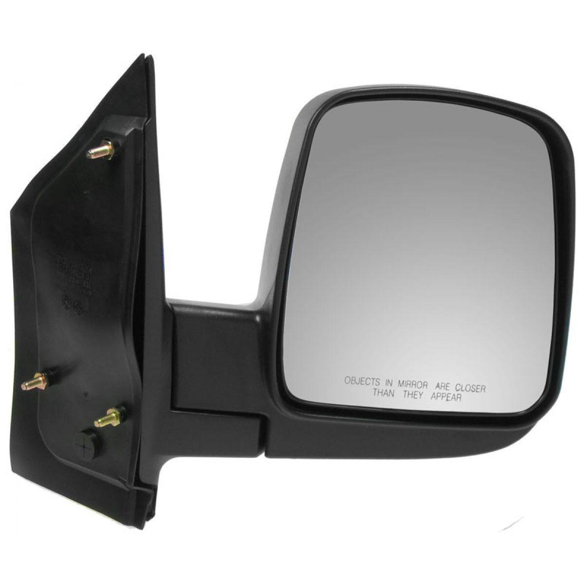 USミラー 乗客右RHマニュアルサイドミラー03-10シボレーエクスプレスGMCサバナ Passengers Right RH Manual Side Mirror for a 03-10 Chevrolet Express GMC Savana