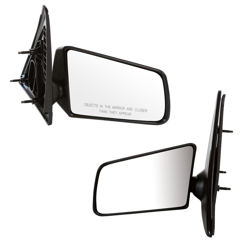 USミラー GMCソノマ用永久保証付き新しいペアのマニュアルミラー New Pair of Manual Mirrors For a GMC Sonoma w/Lifetime Warranty