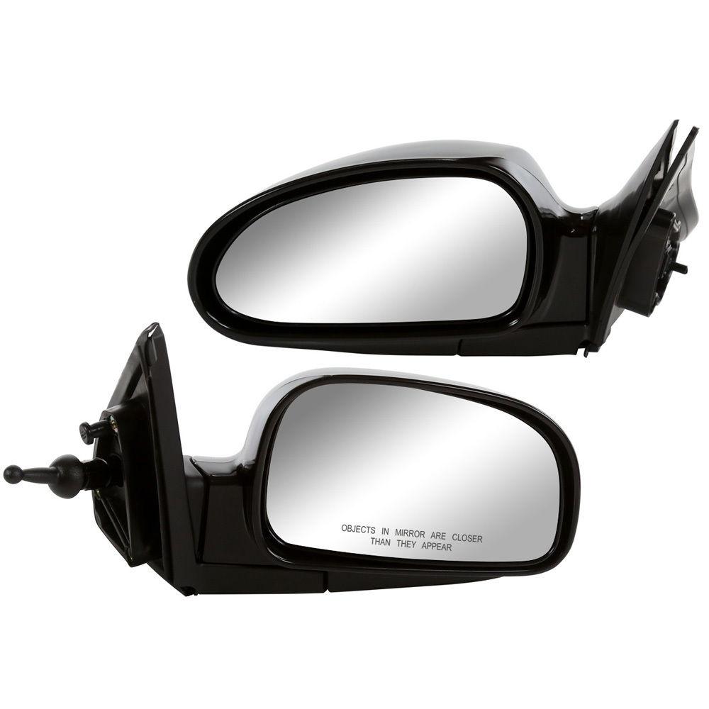 RVR-25 Series 1999 to 2007 Silver Door Mirror Glass RH Driver Side