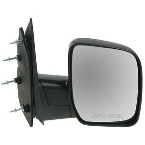 USミラー 永久保証付きフォードEシリーズ用新マニュアル乗客サイドミラー New Manual Passengers Side Mirror for a Ford E Series With Lifetime Warranty