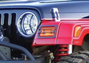 US ライトガード プロテクター [85660] 6pcブラックライトガードキット、2007-2014ジープラングラーJK [85660] 6pc Black Light Guard Kit, 2007-2014 Jeep Wrangler JK