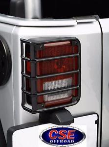 US ライトガード プロテクター テールライトガードペアブラックジープラングラーJK 2007-2016 391122602 OUTLAND Tail Light Guard Pair Black Jeep Wrangler JK 2007-2016 391122602 OUTLAND